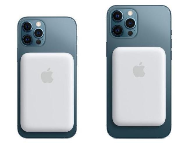 Apple lancia MagSafe Battery Pack per la ricarica magnetica degli iPhone 12: costa 109 euro