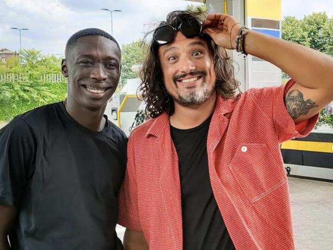 Borghese e Khaby Lame, le foto insieme fanno impazzire il web