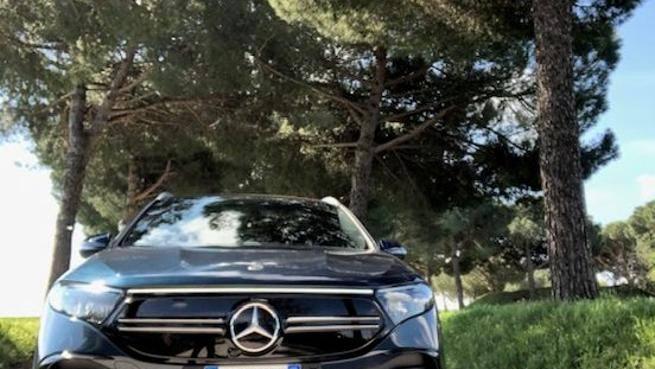 Mercedes EQA 250: il suv elettrico tutto comfort e sicurezza