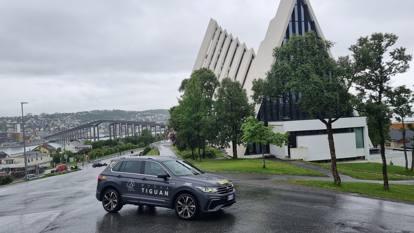 Con la Volkswagen Tiguan alle Lofoten