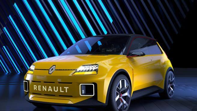Renault: torna la R5. Motore elettrico e debutto a Monaco. Le prime foto
