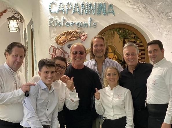 La Capannina, Capri: Michael Kors