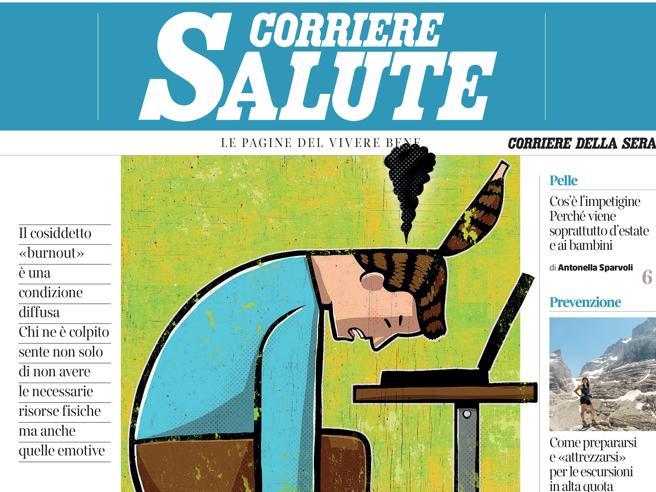 Sul Corriere Salute: siamo sempre più esauriti (e non solo per la pandemia)