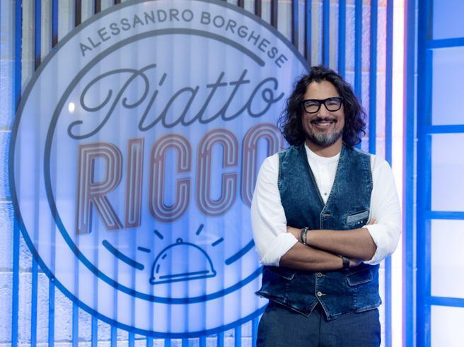 Alessandro Borghese, come sarà il nuovo show «Piatto Ricco»