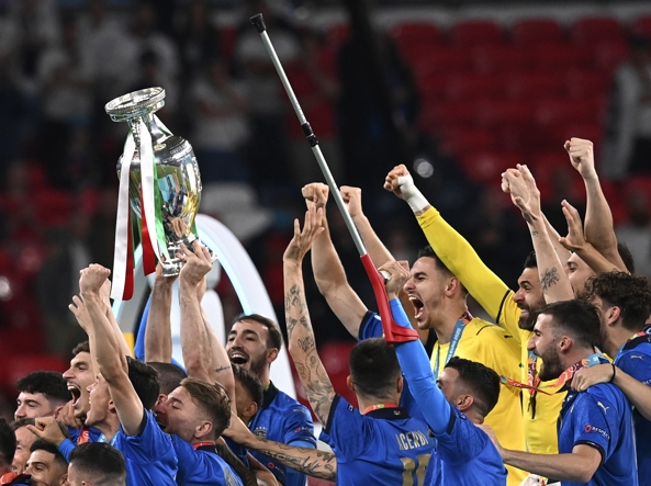 L'Italia che ha vinto gli Europei di calcio