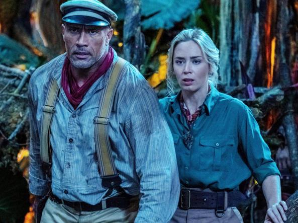 Dwayne Johnson ed Emily Blunt: viaggio sul Rio delle Amazzoni a bordo del Jungle Cruise