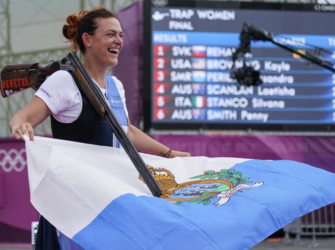 Alessandra Perilli è bronzo: San Marino vince la prima medaglia all'Olimpiade