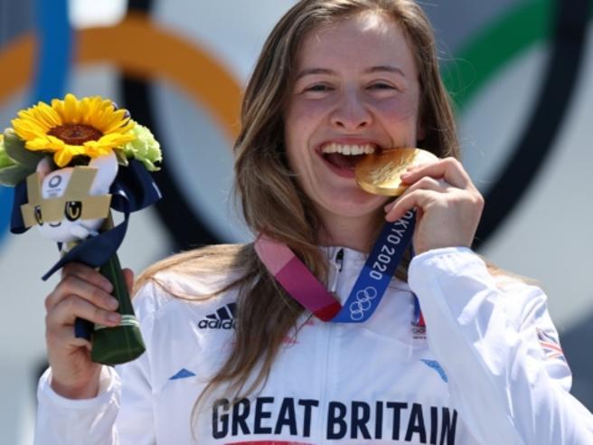 Charlotte Worthington, l'ex chef che ha vinto un oro storico per la Gran Bretagna