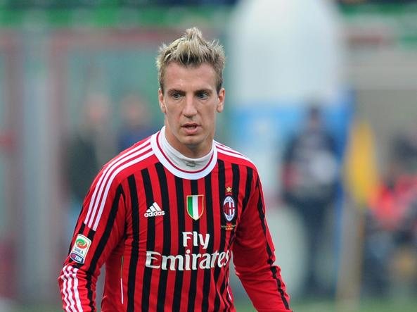 Maxi Lopez al Milan (Afp)