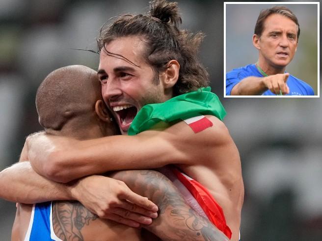 Roberto Mancini e i complimenti a Jacobs e Tamberi: «La storia siete voi»