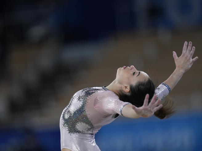 Vanessa Ferrari ha vinto la medaglia d'argento alle Olimpiadi nel corpo libero femminile