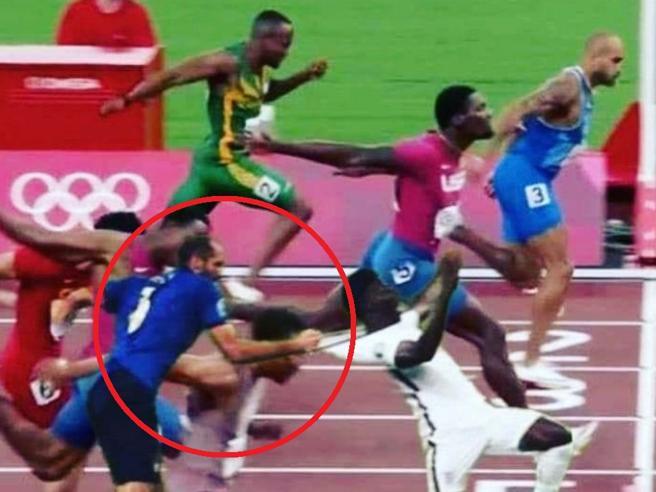 I meme per la vittoria degli italiani Jacobs e Tamberi alle Olimpiadi