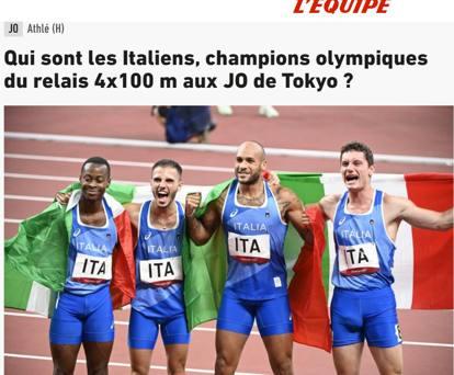 Tokyo, l'oro italiano nella staffetta e i commenti dei giornali stranieri: «Not Italy again!»