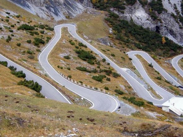 Strada Statale dello Stelvio - Lombardia e Trentino Alto Adige