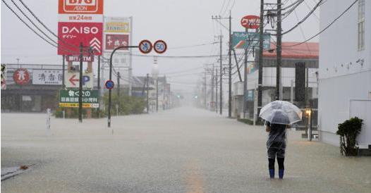 Giappone, forti piogge nel Sud del Paese: ordine di evacuazione per 5 milioni di persone