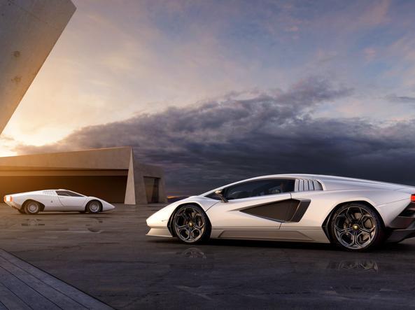 Lamborghini Countach, il mito si reinventa