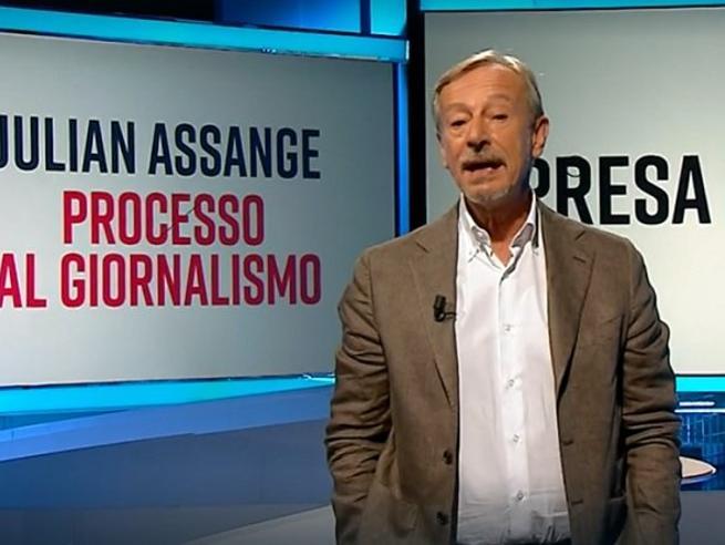 Iacona, una totale identificazione con le tesi di Assange