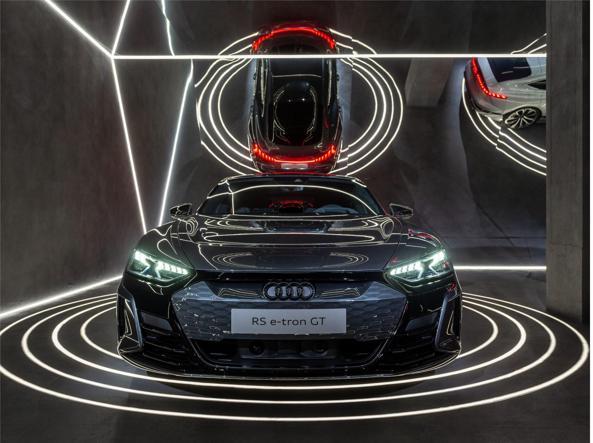 A Spiga 26, sede di Audi City Lab, si celebra la nuova sportiva RS e-tron GT