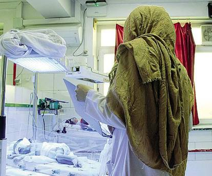 L'ospedale-maternità che non si ferma mai