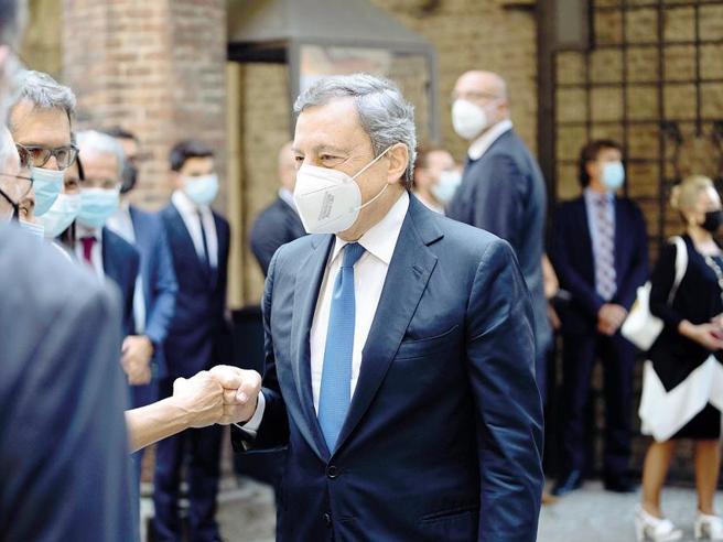 Draghi: «Le cose vanno fatte perché si deve, anche quando sono impopolari»
