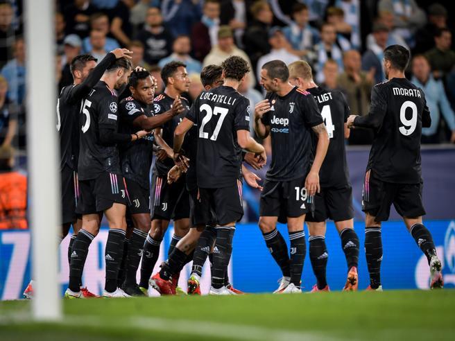 Malmoe-Juventus 0-3: Allegri parte bene con Alex Sandro, Dybala e Morata