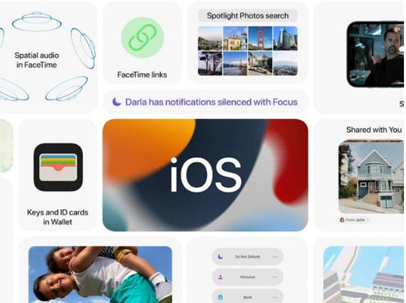 Alcune delle novità introdotte con iOS 15