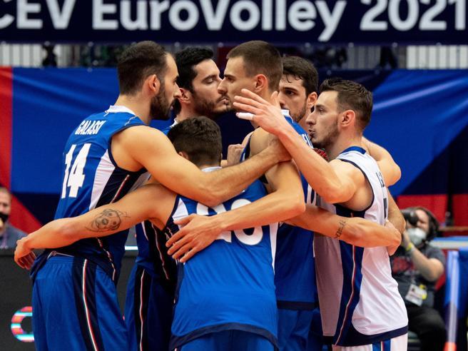Europei di volley, Italia-Germania 3-0: azzurri in semifinale con la Serbia