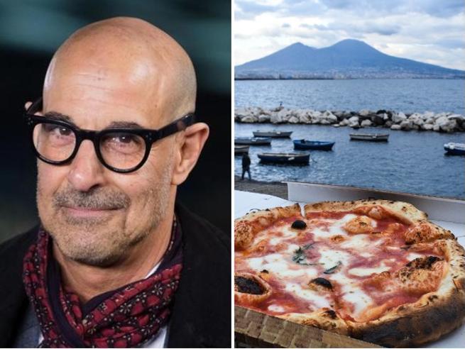Stanley Tucci punta su Napoli per vincere l'Emmy Award 2021