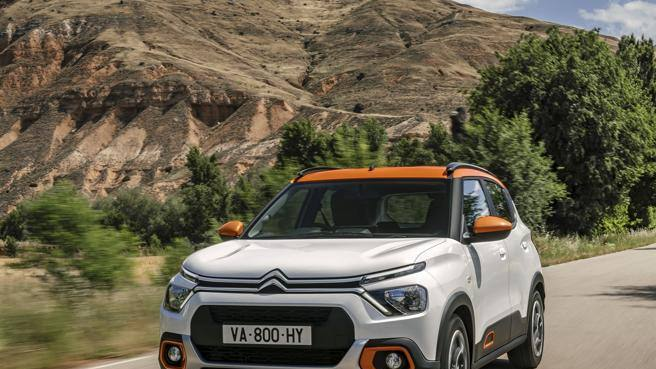 Passaggio in India per la Citroën C3
