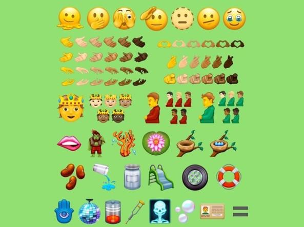 37 nuove emoji, 838 in totale