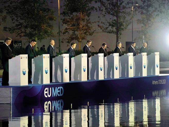 Draghi: «Non c'è più tempo sul clima come sulla pandemia»