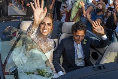 Miriam Leone e Paolo Carullo sposi a Scicli: le foto delle nozze
