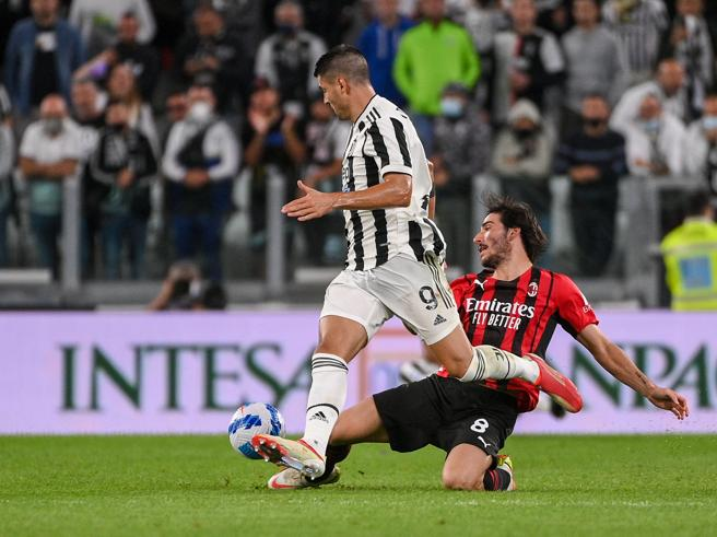 Juventus-Milan 1-1, pagelle: Morata freddo, Chiesa e Kean non incisivi; Tonali fatato, Kalulu prontissimo