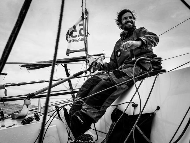 Un ingegnere e la sua vela nell'oceano: così si naviga la dislessia