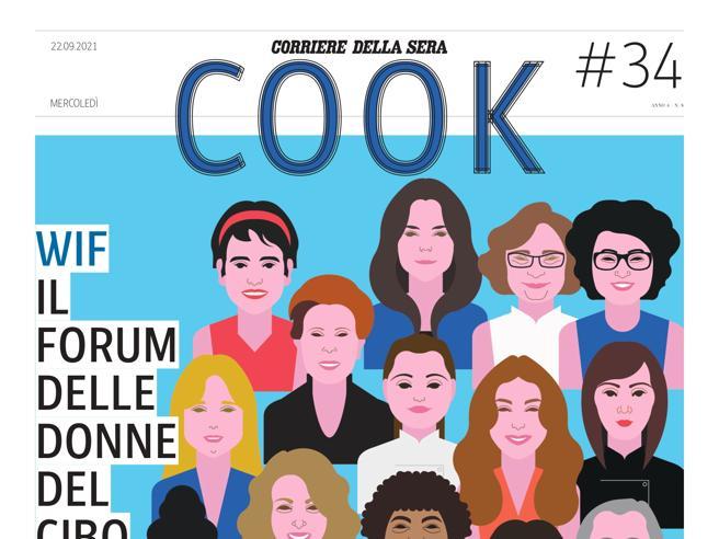 Lo 20 donne del cibo 2021, Cook mercoledì 22 settembre in edicola gratis