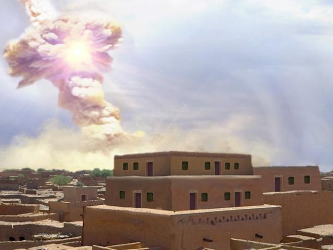 Sodoma e Gomorra,  il racconto biblico ispirato  dall'impatto di  un asteroide: trovate le tracce