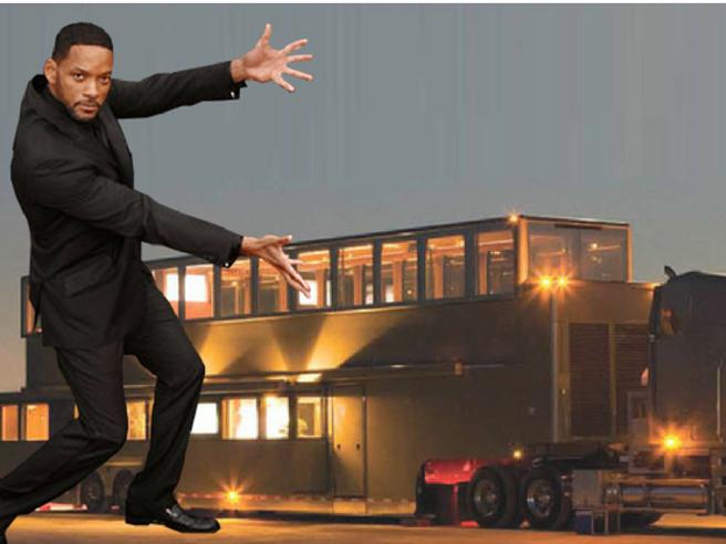 Il camper di Will Smith è il più grande al mondo. E vale una fortuna