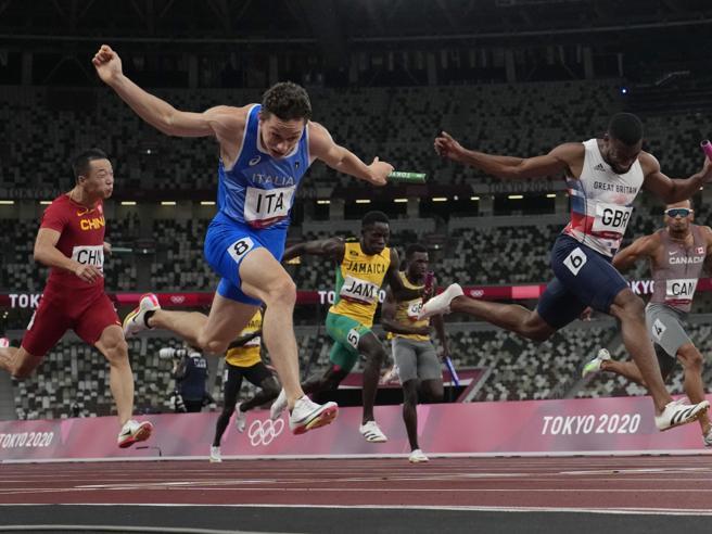 Tortu ricorre la staffetta 4x100 oro a Tokyo: «I miei pensieri a 40 km all'ora: avevo una lucidità assoluta»