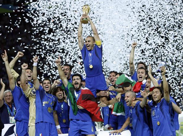 L'Italia campione del mondo 2006