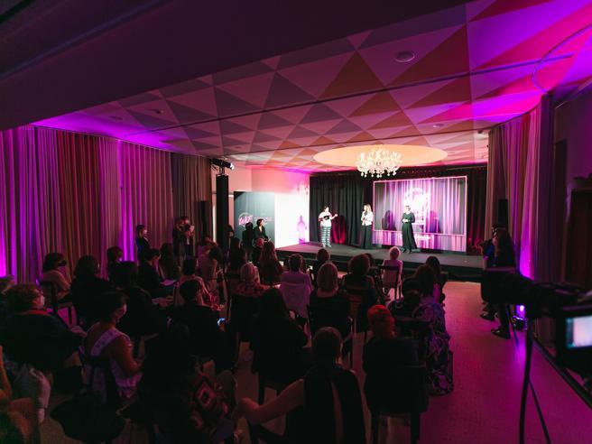 Women in Food: premiazione sul palco