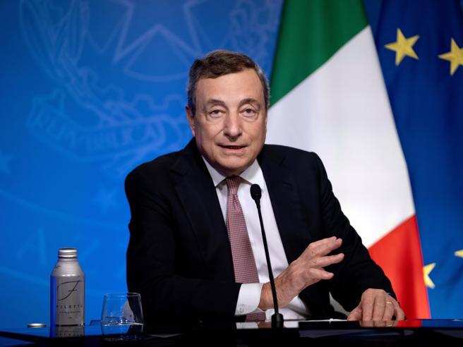 L'Italia donerà 45 milioni  di vaccini ai Paesi poveri: la  promessa di Draghi all