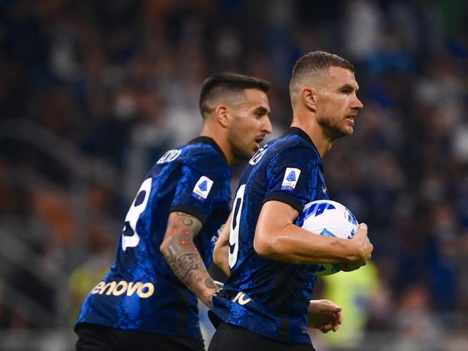Inter-Atalanta finisce 2-2,  Malinovsky e Toloi frenano la corsa dei nerazzurri  ma Dzeko li salva