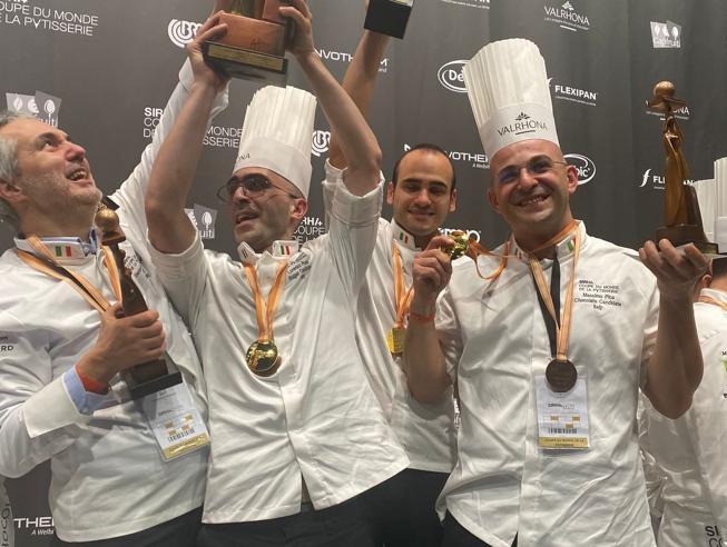 L'Italia vince la Coppa del mondo di pasticceria
