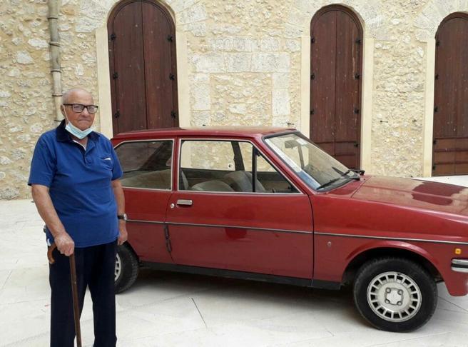 Angelo Terrana, il 91enne custode dell'auto di Livatino: «È come una reliquia»