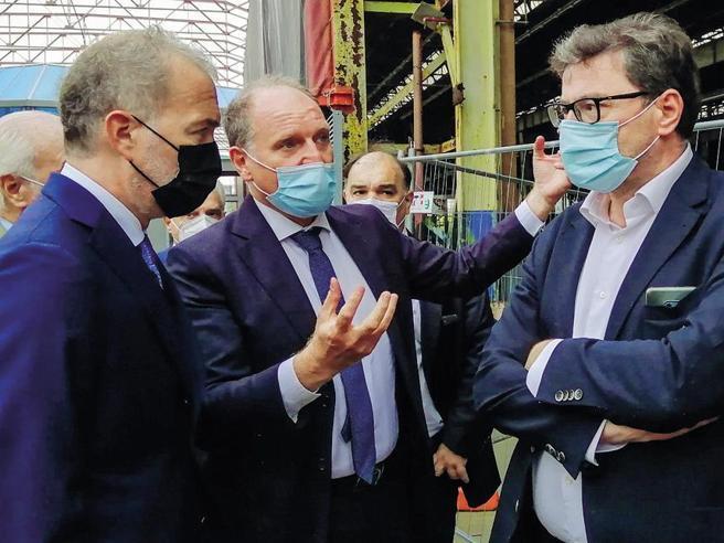 Giorgetti spinge  il «suo» candidato per Torino: «Io? Sono come Pirlo»