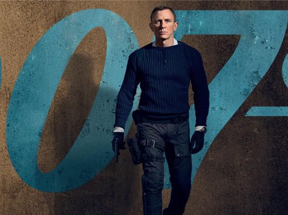 «No Time To Die» è il venticinquesimo film della saga di 007, quinto e ultimo per Daniel Craig