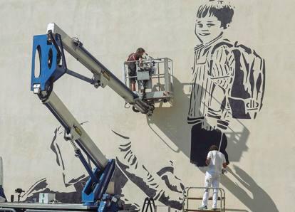 I murales delle Fondazioni che uniscono