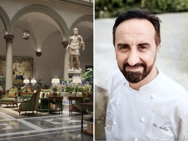 Lo chef Vito Mollica torna a Firenze e apre il ristorante «Chic Nonna» nella casa di Beatrice, la musa di Dante