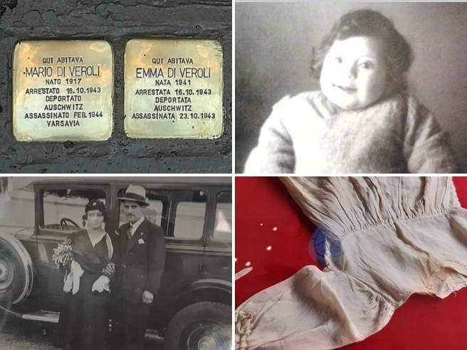 16 ottobre 1943, il vestitino di Emma deportata nel lager