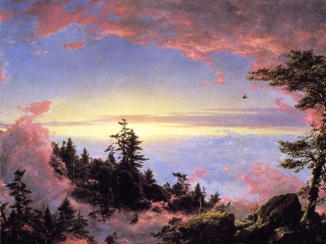 Una biografia dell'Ottocento: la natura si fa pittura